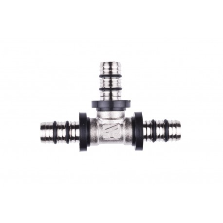 Kolano KAN-therm PRESS PPSU 16x16 z pierścieniem zaprasowywanym
