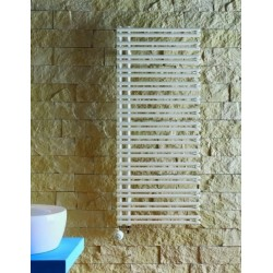 Grzejnik łazienkowy Ratea H1200 L500, 650W, biały RAL9016