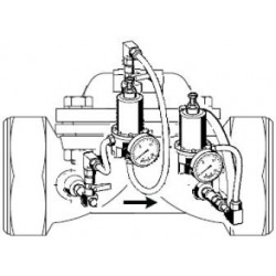 """Zawór pierwszeństwa, przyłącze gwintowane, 1"""" Honeywell VV300/VV100-1A"""