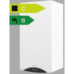 Kocioł gazowy dwufunkcyjny z otwartą komorą spalania MINIMAX ELEGANCE (typ GCO-DP-13-10 (13/24)) i pompą PWM Termet