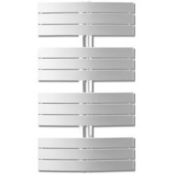 Grzejnik łazienkowy Apolima H1400 L650, 909W, biały RAL9016