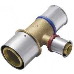 Trójnik KAN-therm PRESS z pierścieniem zaprasowywanym 50x4/ 40x3,5/ 50x4